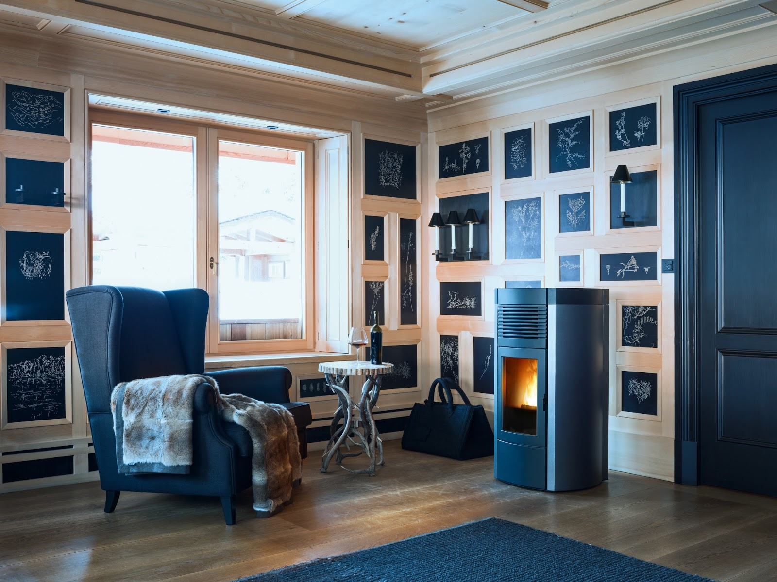 pellets de madera Barcelona Bosch Marín -Importador oficial chimeneas y estufas-