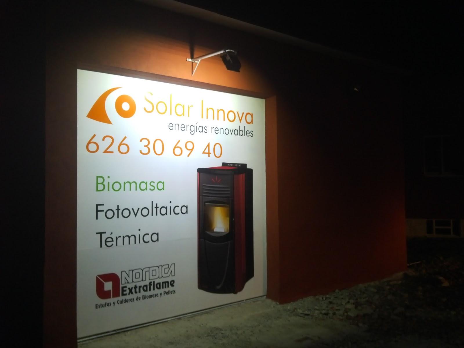 oferta en pellets Ávila SOLAR INNOVA