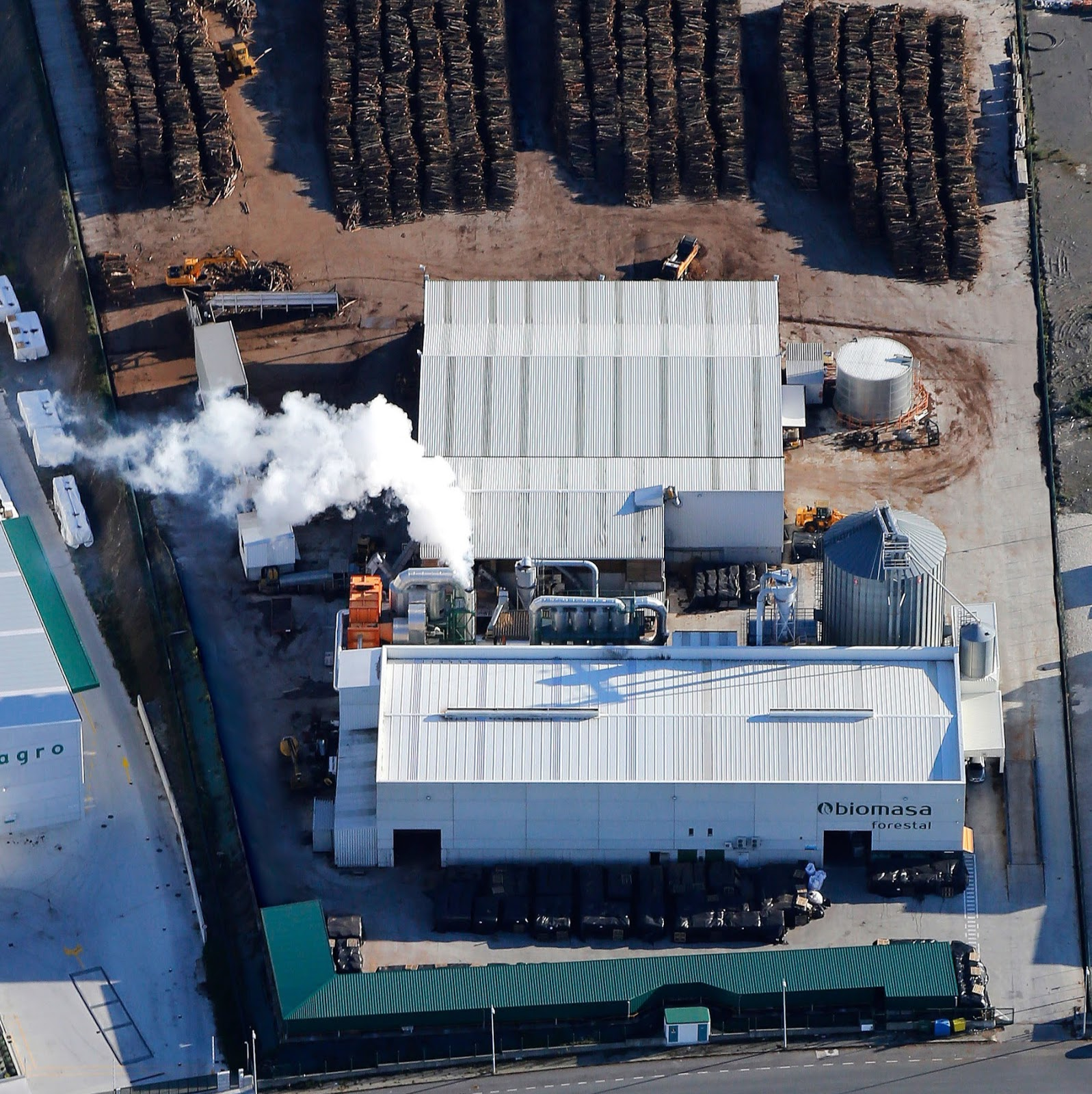 pellets de madera A Coruña Biomasa Forestal